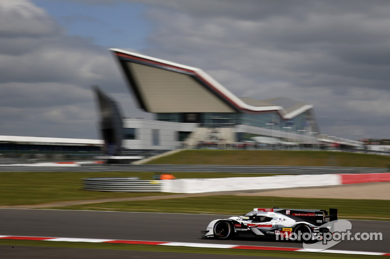 Audi quickest in Silverstone