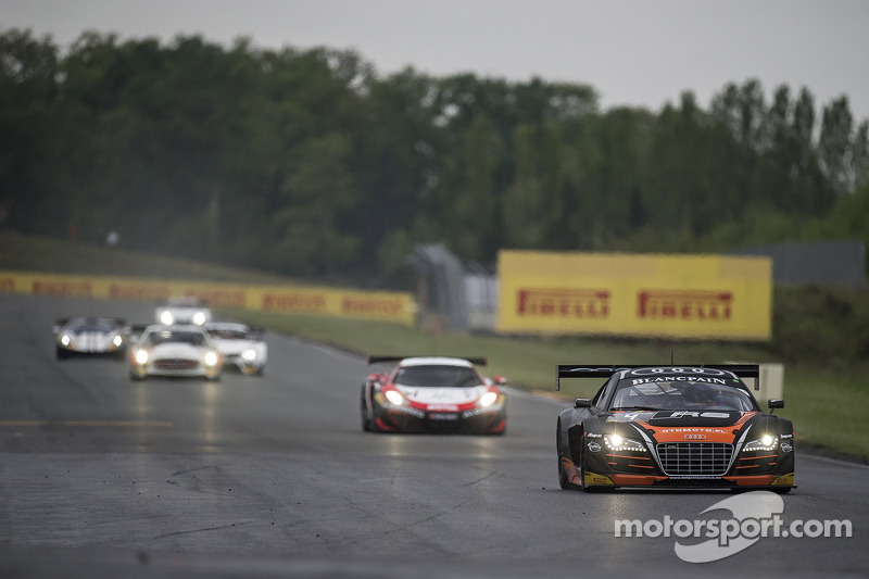 Many satisfactions and some regrets for the Belgian Audi Club Team WRT at Nogaro season-opener