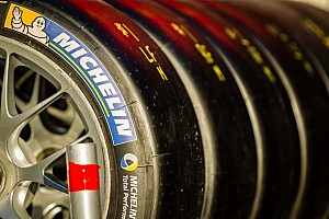 What is behind NASCAR's meeting with Michelin?