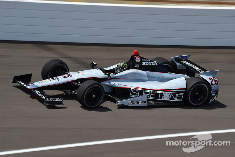 Busch and Villeneuve complete refresher test for Indy 500