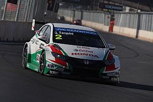 Honda cars set testing pace at Hungaroring