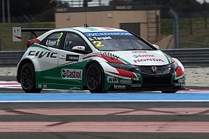 Honda cars set testing pace at the Hungaroring