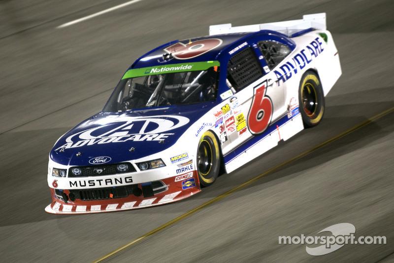 Trevor Bayne earns a top-10 in Talladega NASCAR Nationwide battle