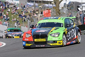 Colin Turkington wins a chaotic Race 3 at Thruxton