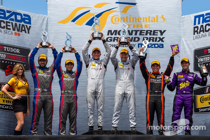 Second podium of the season for Ende in Lino'spresso USA/RSR Racing Oreca FLM09