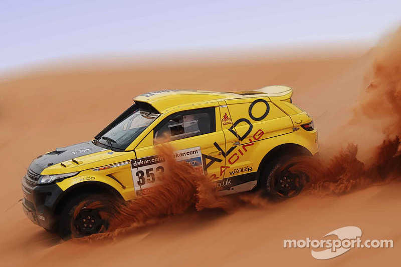 ALDO Racing Team up to fourth overall following day 2 of the Mexican 1000 Rally