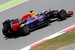 Red Bull Racing ended second day of practice at Barcelona