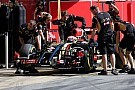Pastor Maldonado fastest at second day at Barcelona