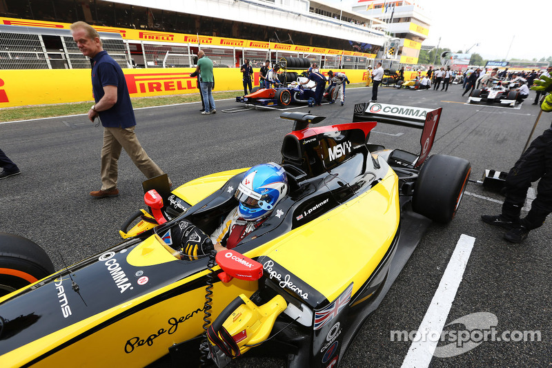 Jolyon Palmer sets the pace in Monte Carlo