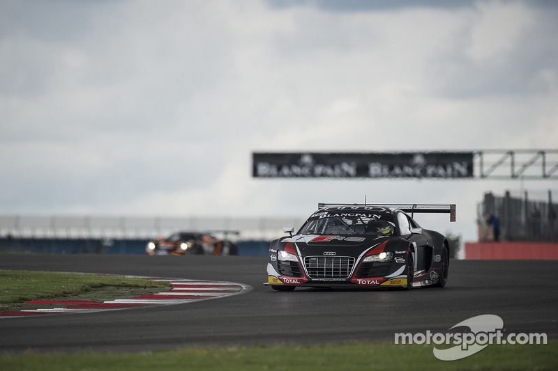 First podium placing for Basseng at the Blancpain Endurance Series in Silverstone