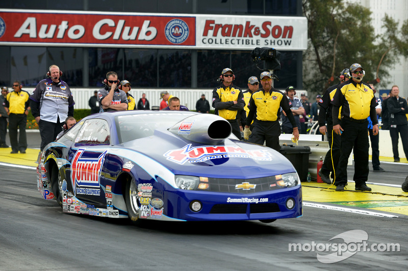 Line on his game as NHRA tour returns to Summit-friendly Raceway Park
