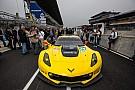 Corvette C7.R completes first test laps at Le Mans