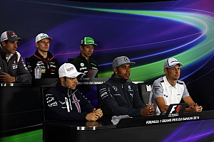 2014 Canadian Grand Prix Thursday press conference