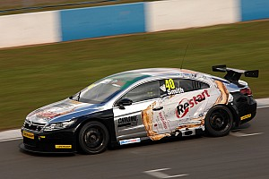 Aaron Smith takes the Race Three victory at Oulton Park