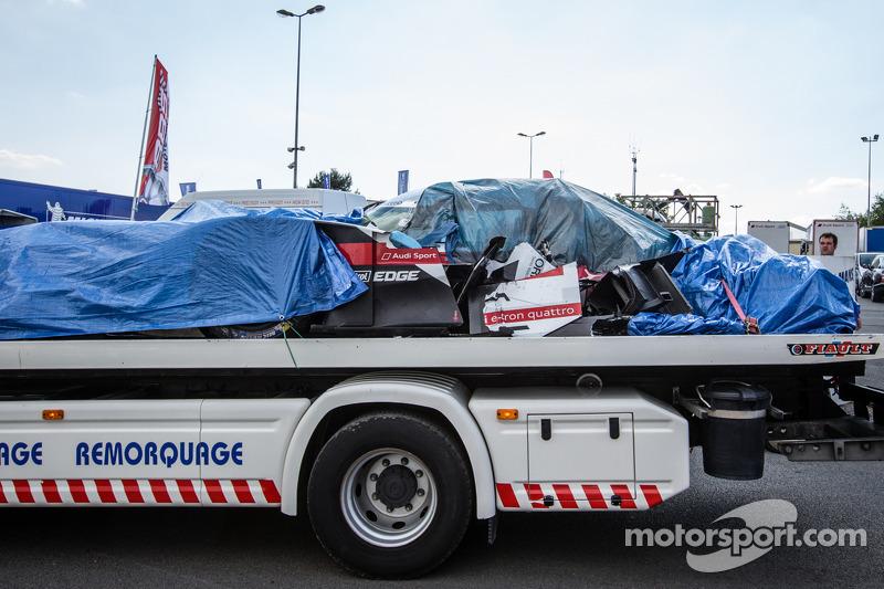 Audi building new car after crash