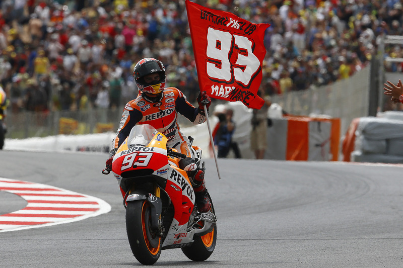 Marquez clinches scintillating seventh win of the year in Catalunya