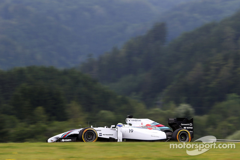 A good Friday practice for Williams in Spielberg