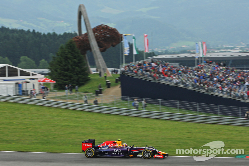 Red Bull improved during the free practice sessions in Spielberg