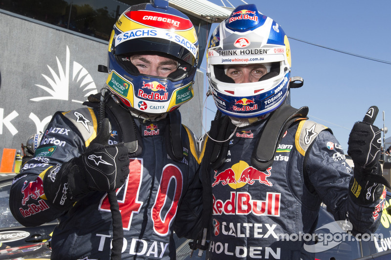 Race One of the Skycity Triple Crown goes to Jamie Whincup