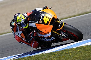 Espargaro goes top on first day at Assen and laps under track record