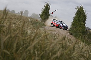 Trouble-free start to Rally Poland for Hyundai Shell World Rally Team