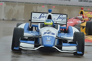 Dale Coyne Racing, Carlos Huertas penalized after Houston race 1