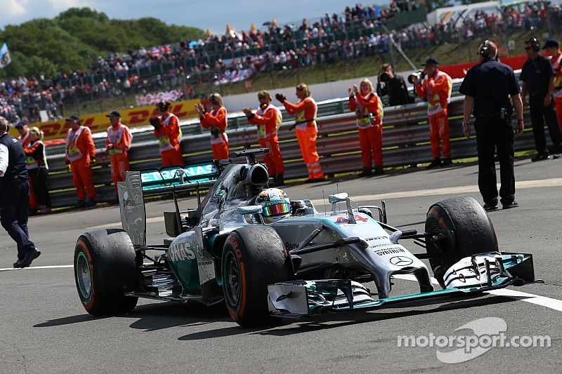 Nico and Lewis prepares for a home race for Mercedes-Benz