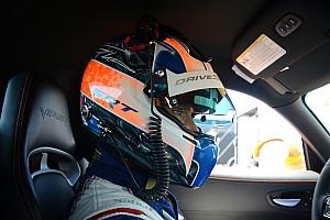 Kuno Wittmer on front row for Pirelli World Challenge race