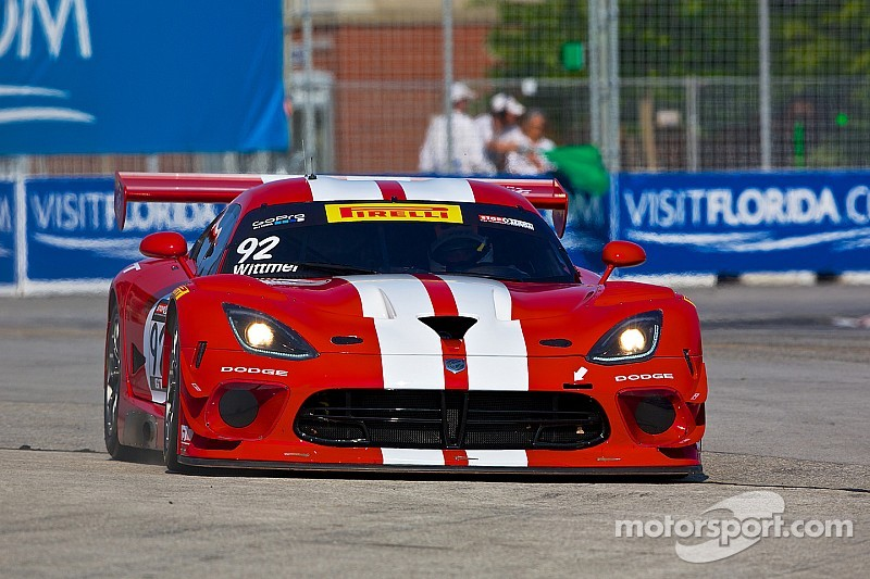 SRT Motorsports and Wittmer victorious in Toronto