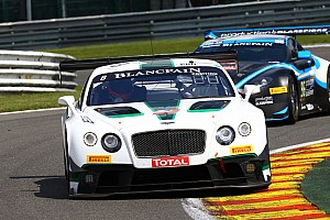 Challenging first six hours for M-Sport Bentley at Spa