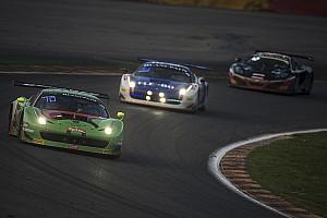 Norbert Siedler's Ferrari-debut ends earlier than expected