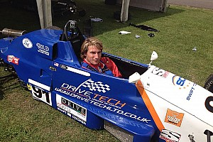 Freddie Hunt returns to competitive racing