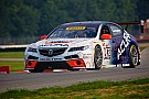Early contact ruins new Acura TLX GT's second outing at Mid-Ohio