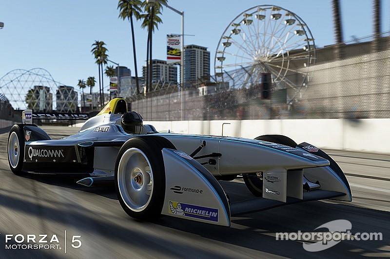 Formula E car stars in top-selling video game