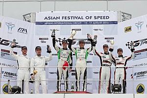 GT Asia: Yu and Mucke play it perfectly for strong win at Sepang