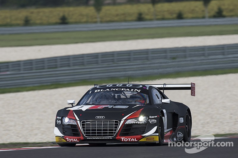One win and one podium finish for the Belgian Audi Club Team WRT in eventful Slovakiaring weekend