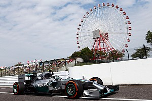 Japanese GP Friday practice 1 results: Rosberg on top