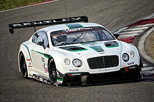 Impressive Chinese debut for Bentley Continental GT3