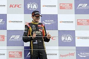 Esteban Ocon to test with Lotus F1