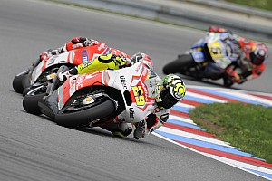 Pramac Racing Team at Valencia for the last race of the season