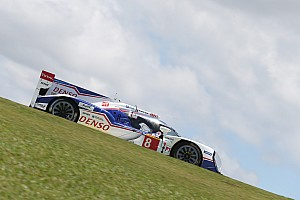 Toyota working hard to go faster at Interlagos