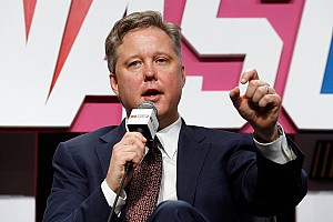 Brian France takes to the airwaves