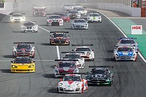 Fierce battle for the lead in first hour Hankook 24H Dubai
