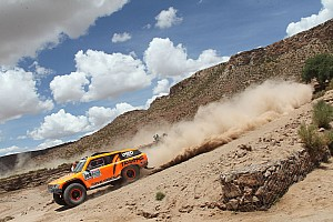 Robby Gordon finishes ninth in stage 12 of Dakar Rally