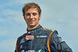 CFH Racing adds Luca Filippi to driver lineup for 2015 IndyCar series season