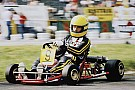 Ayrton Senna's final race kart up for sale