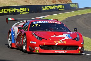 AF Corse Ferrari leads Bathurst after three hours