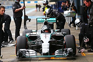 Rosberg explains neck issue that forced him to quit test