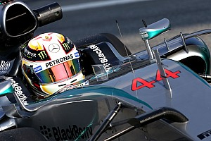 Hamilton happy to be back in action, despite illness
