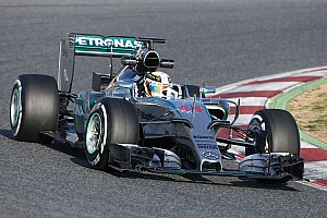 Hamilton hits a century on day three at the Circuit de Barcelona-Catalunya